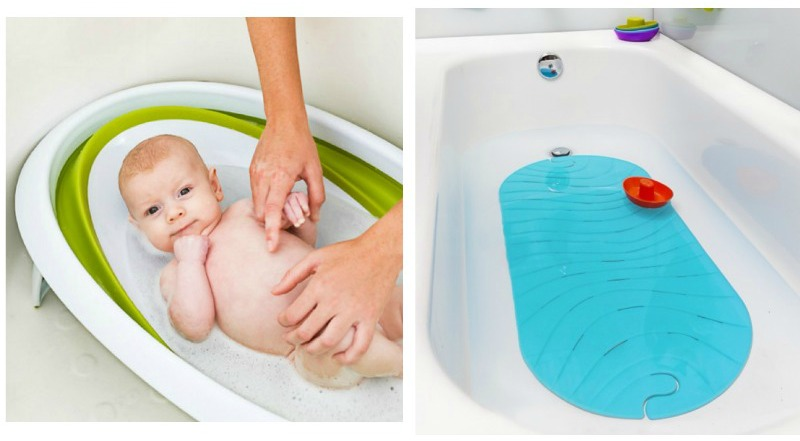 This list of baby bath time essentials is so helpful for new parents! If you're not sure what you need for bath time with baby, check out these tips!