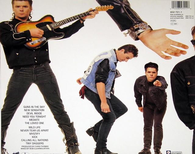 """INXS Kick 12"""" vinyL LP"""