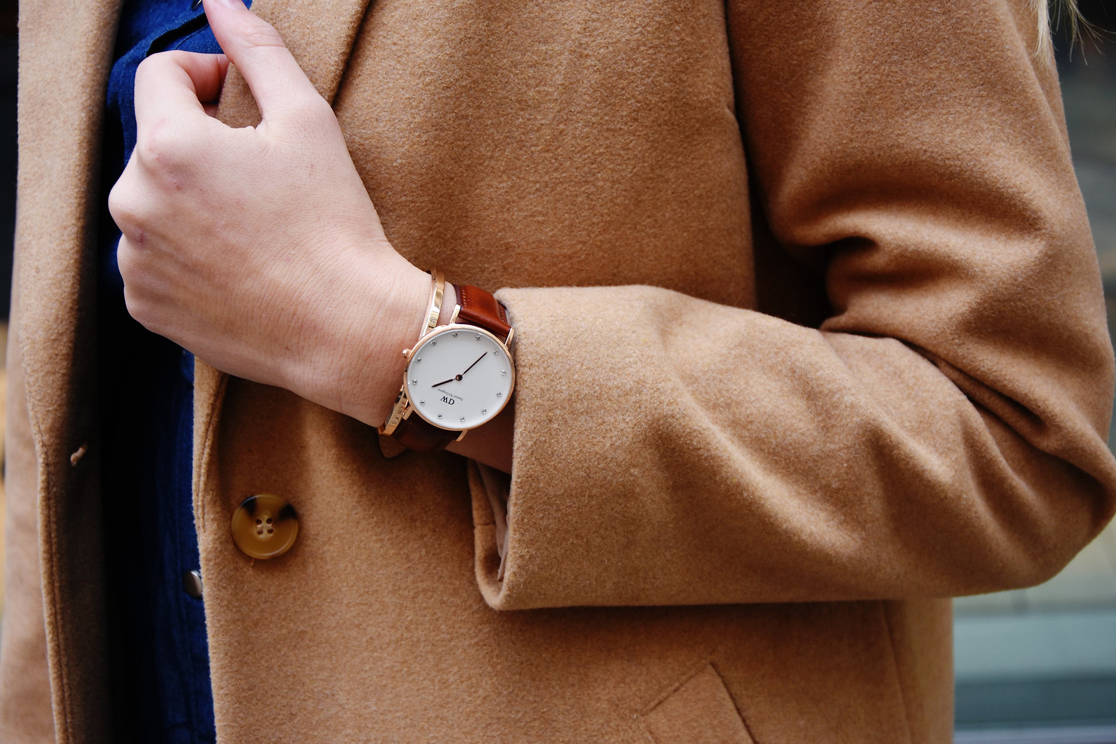 Daniel Wellington watch in an outfit