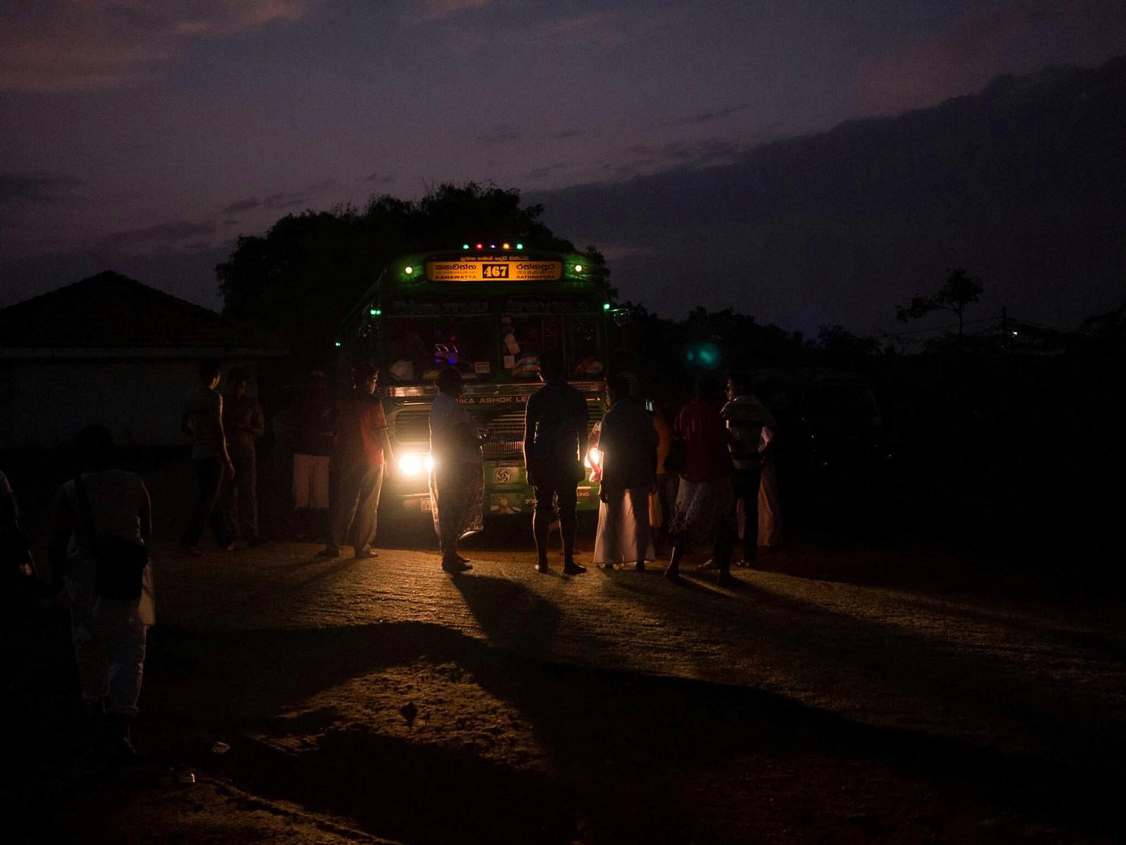 Last Bus (Kirinda, Sri Lanka)