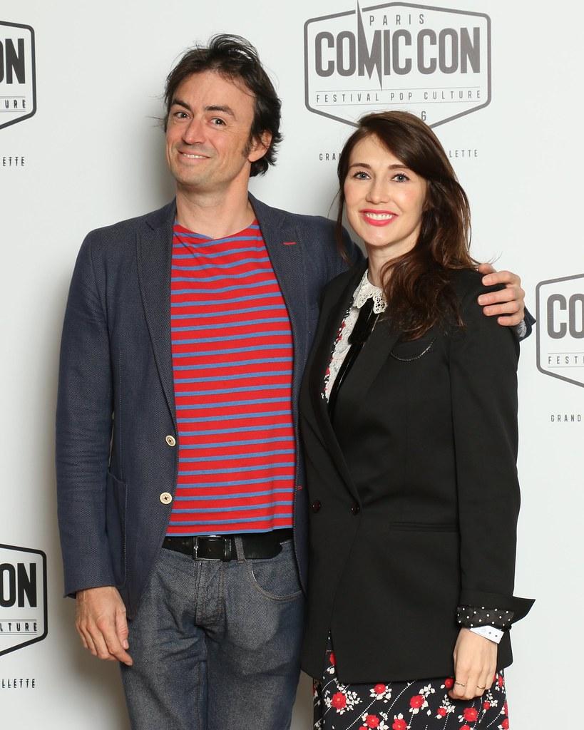 Mathieu Tuffreau Carice van Houten Comic Con Paris 2016