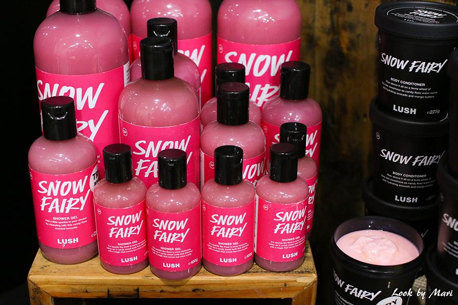 6 Lush snow fairy soap review kokemuksia