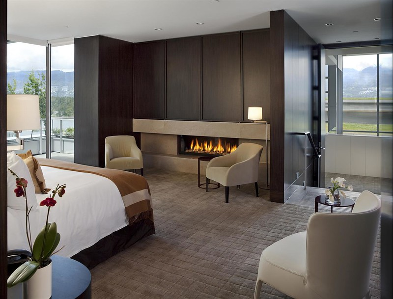 Chairman's Suite Bedroom at the Fairmont Pacific Rim
