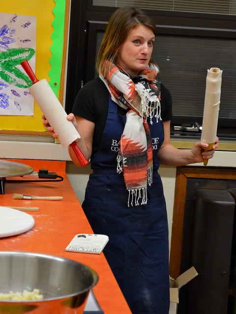 Teaching How To Make Lefse
