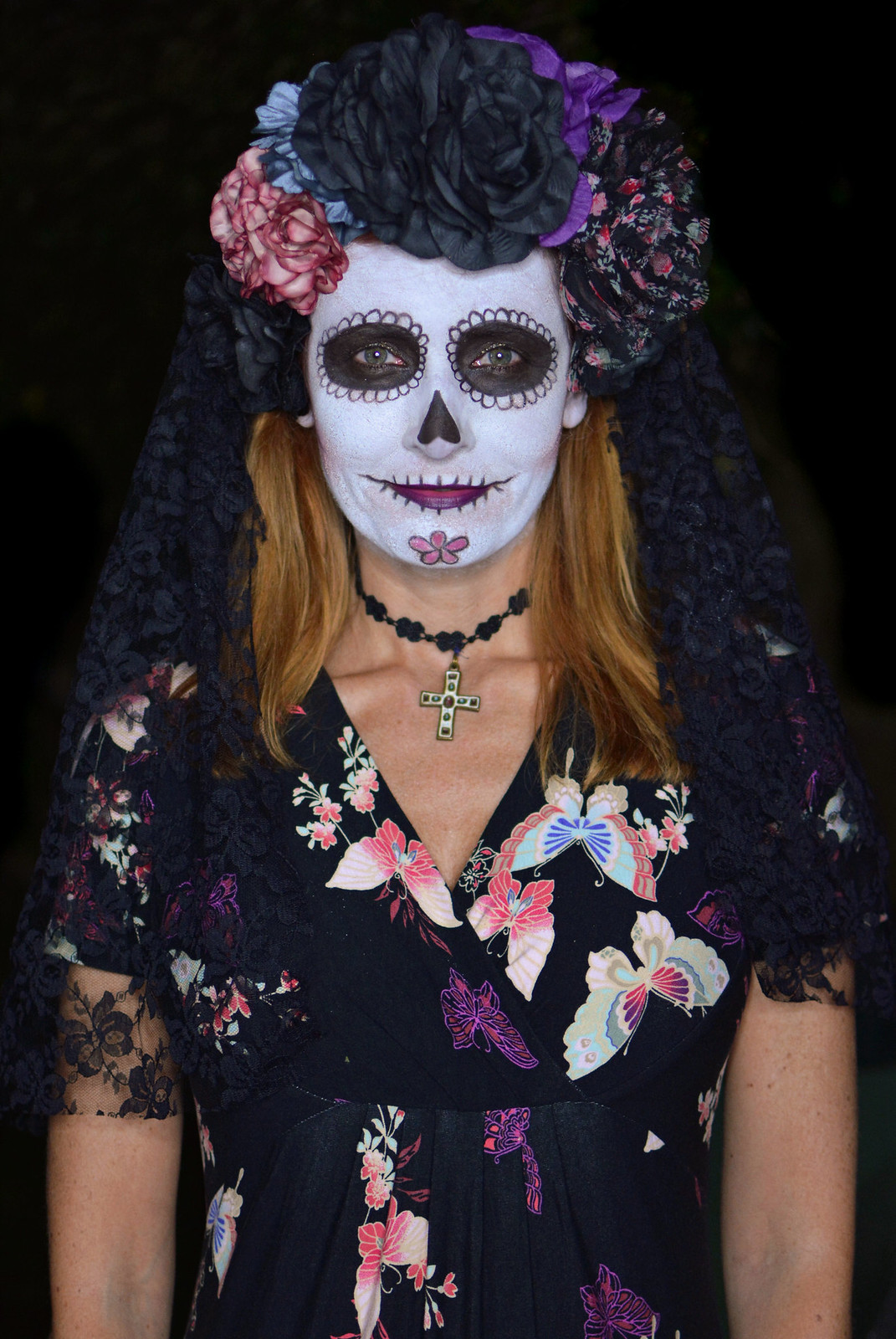 Mexican Day of the Dead Halloween costume
