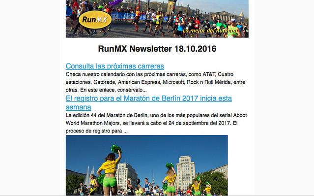 Newsletter RunMX