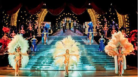tour bờ Tây nước Mỹ Las Vegas Jubilee at Bally's Show