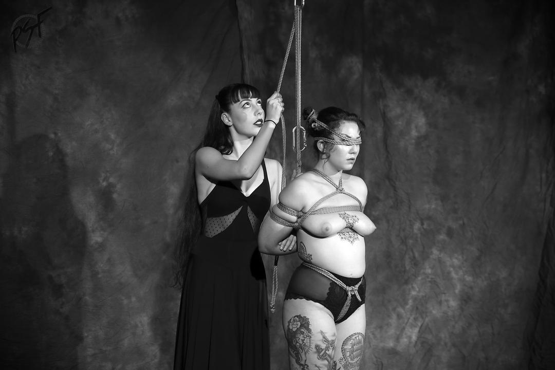 Shibari performance by Gestalta and Sophia at Prague Shibari Festival 2016