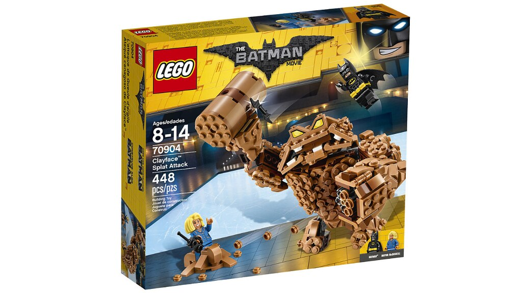LEGO The Batman Movie 70904 - Clayface Splat Attack