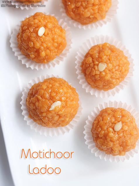 Motichoor Ladoo Recipe