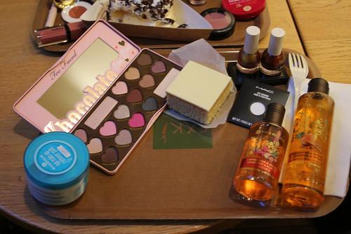 Cake and Cosmetics: me