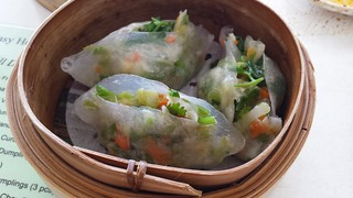 Coriander Dumplings at Easy House