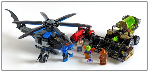 LEGO SuperHeroes DC Comics 76054 Batman Scarecrow Harvest of Fear 31
