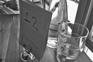Tartine Manufactory - Menu Number bw