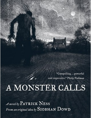 A Monster Calls - Book Cover 1