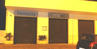 La nuova farmacia in Via Murat