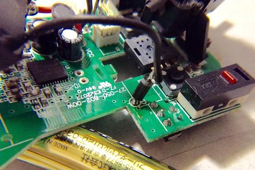無線マウスを修理