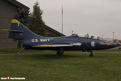 146417 7 - - US Navy Blue Angels - Grumman TF-9J Cougar - Evergreen Air and Space Museum - McMinnville, Oregon - 131026 - Steven Gray - IMG_9069