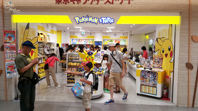 tokyo first avenue station pokemon store