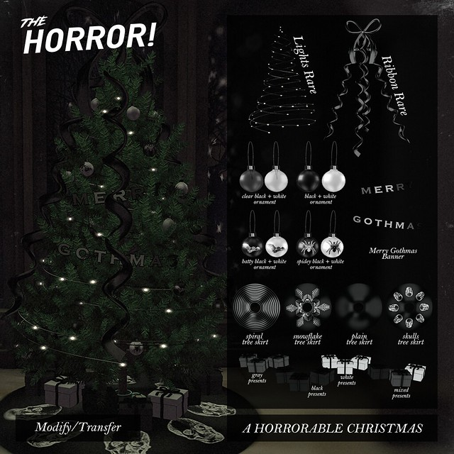 The Horror! ~ A Horrorable Christmas @ Tannenbaum