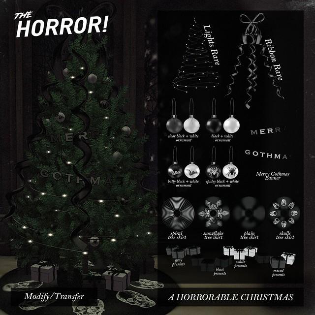 The Horror! ~ A Horrorable Christmas @ Tannenbaum