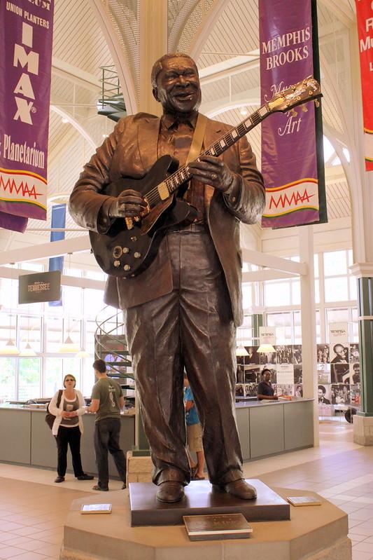 B.B. King Statue - Memphis