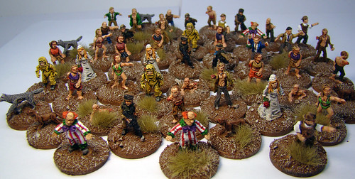 Rebel Minis - 15mm Zombies