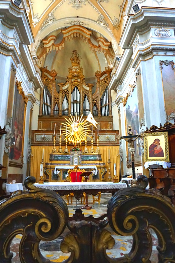 Catania Cathedral Interior
