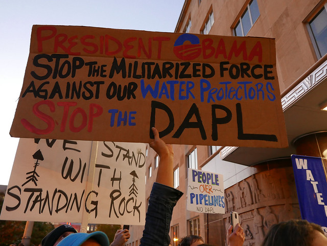 Dakota Access Pipeline Rally and March 11/15/16