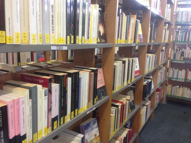 Livres en bibliothèque