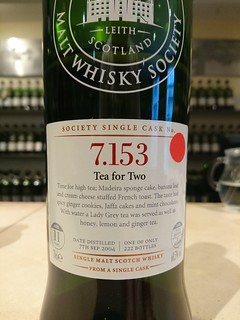 SMWS 7.153 - Tea for Two