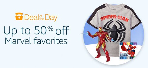 50% off Marvel Favorites