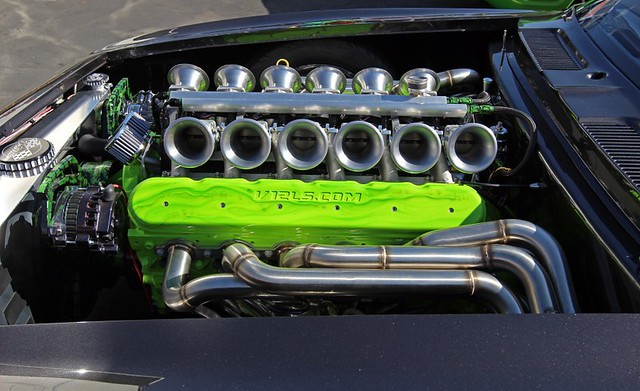 V-12 LS–Powered Chevrolet Camaro