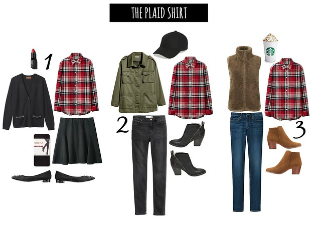 3 ways to wear the plaid shirt | Style On Target