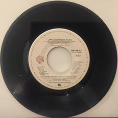 CHRISTPHER CROSS:ARTHUR'S THEME(BEST THAT YOU CAN DO)(RECORD SIDE-A)