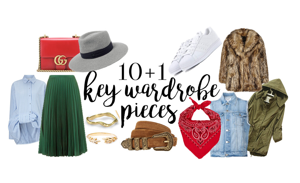 key wardrobe pieces