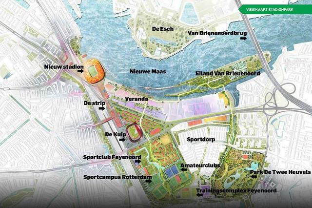 Stadionpark visiekaart Feyenoord City