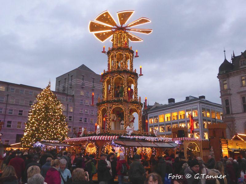 Weihnachtsmarkt Halle