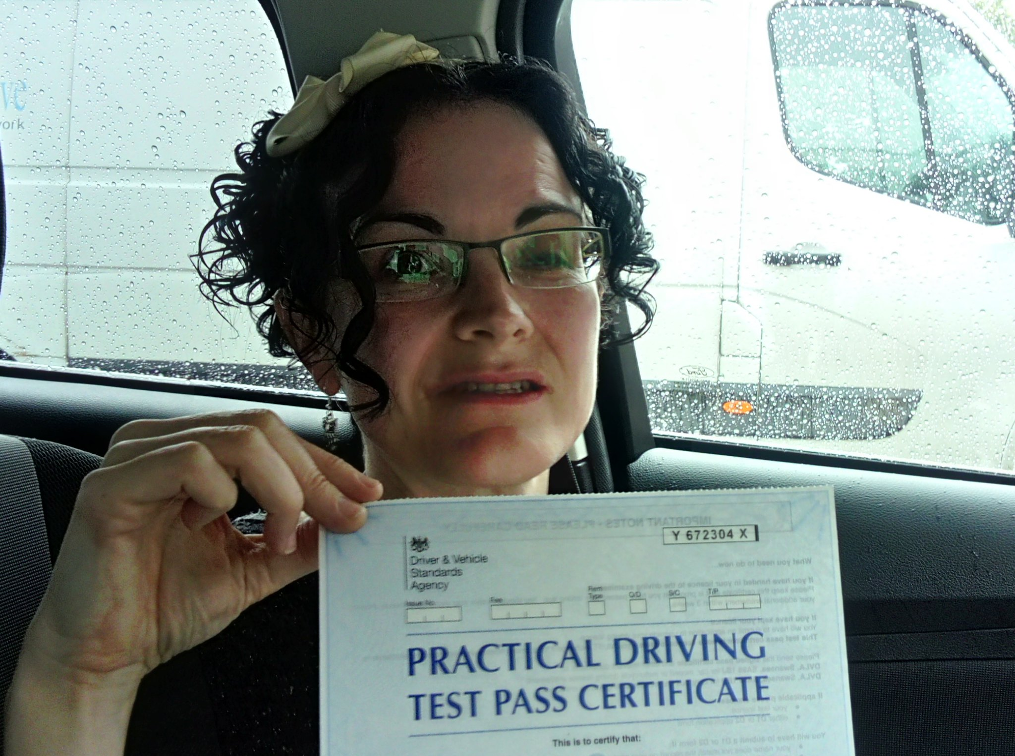 Liz Hunter passes driving test in grimsby with 21st Century Driving
