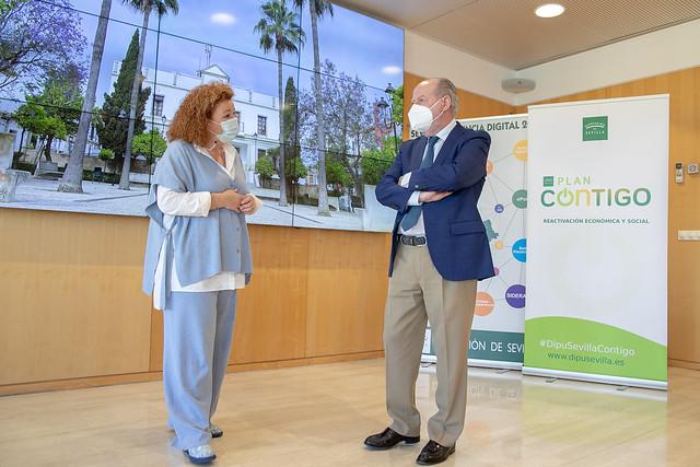 05-110521 La alcaldesa de Castilleja de Guzmán expondrá al presidente de la Diputación los principales proyectos que realizará con inversiones provinciales.