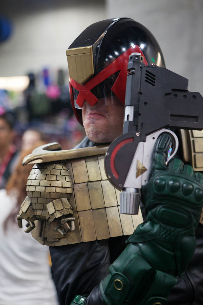 Photo of Judge Dredd