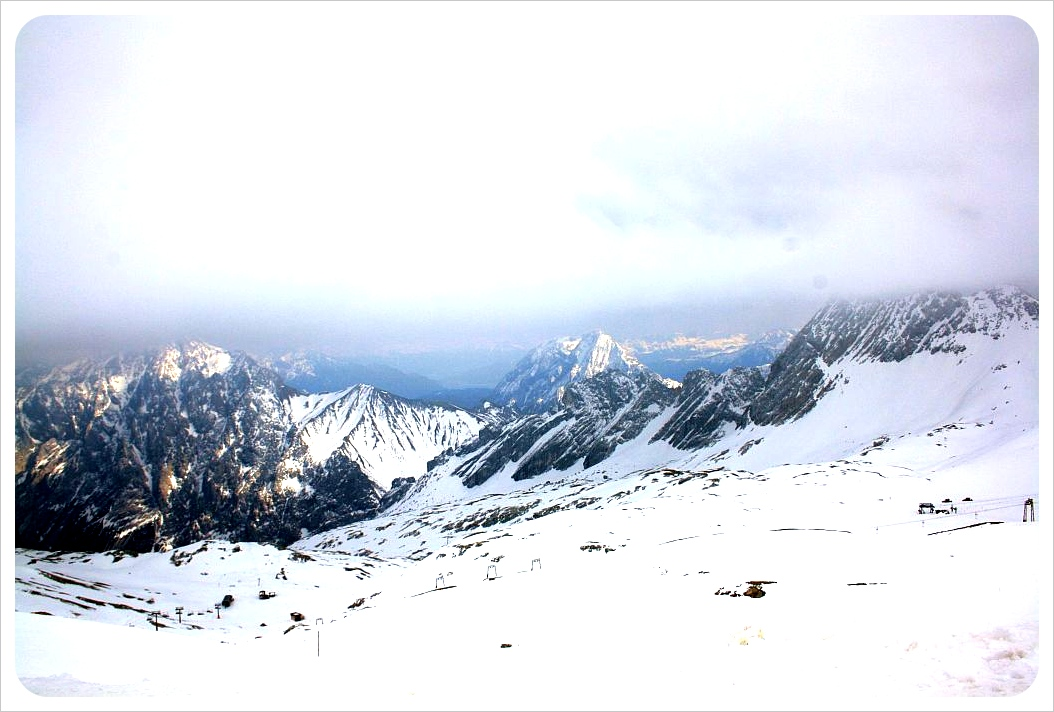 Zugspitze view & clouds