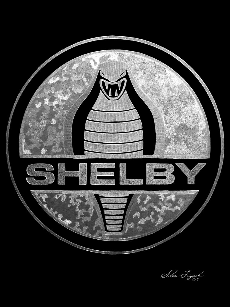 Original Shelby Cobra Logo Shelby Cobra Logo Hand