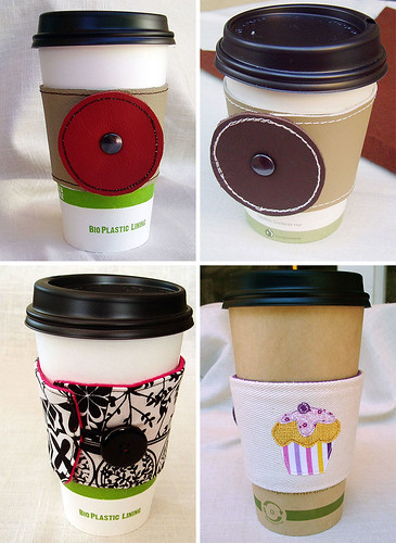 coffee sleeves | by craftynest