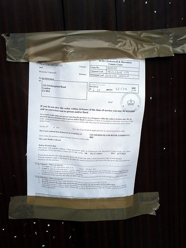 eviction notice for squatters pdf