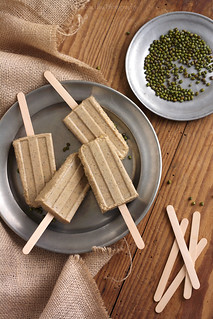 Coconut Mung Bean Kaffir Lime Popsicles | by Xiaolu // 6 Bittersweets
