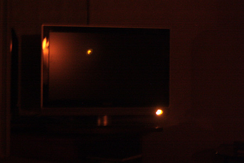 tv light-why are they so darned bright? | by David Lebovitz