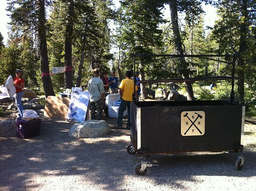 SBTS barbeque looking good | by Sierra Buttes Trail Stewardship