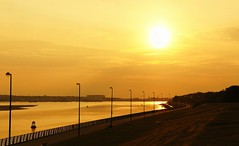 Otterspool Sunset by OccasionalMoments