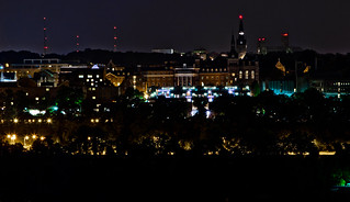 Georgetown University at Night | by Pyrat Wesly